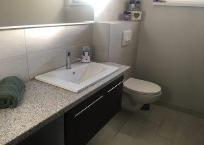 4 fős WC mosdó
