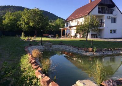tó házzal